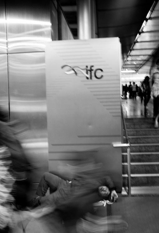 Pengemis di Hong Kong