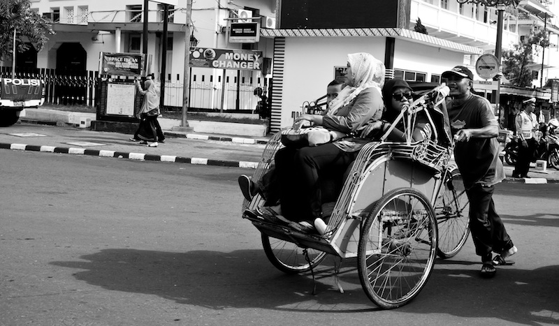 Diatas Becak by ARO