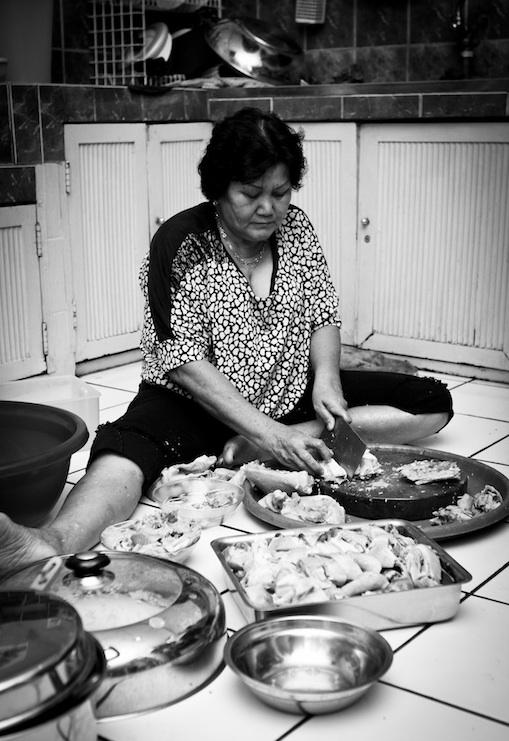 Memotong Ayam by ARO
