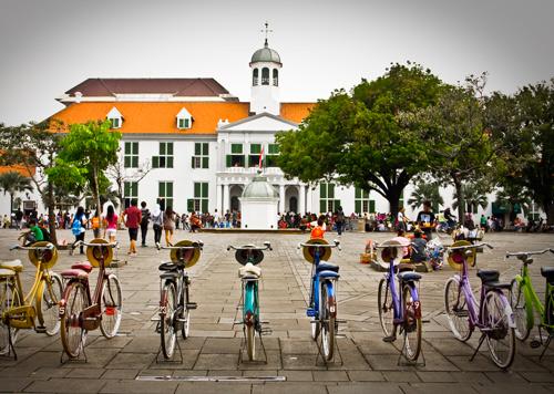 Sepeda Othel di Museum Fatahillah by ARO